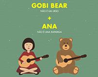 GOBI BEAR + ANA // Porta 253 Poster