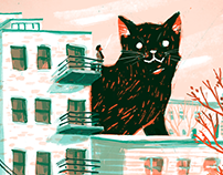 Editorial Illustrations for Broadly II