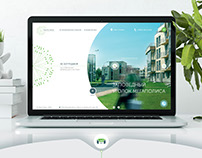 Сайт загородного поселка