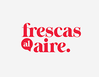 FRESCAS AL AIRE (identity, podcast art + icons)