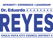 Reyes Political Campaign Creative