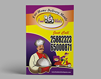 Home Delivery Menu Book Cover Page