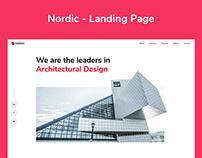 Nordic - Landing Page