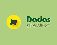 Dadas Supermarkt Logo