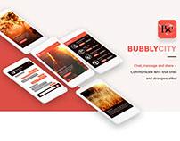 BubblyCity Mobile App - Social UI Kit