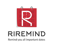 RIREMIND Logo and App Design Custom Project