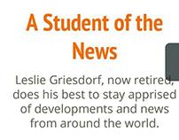 Leslie Griesdorf Born, Raised, Works in Native Toronto