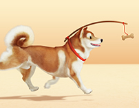 Run doggy run! - Animated
