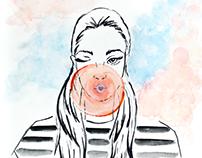 Bola de Chiclete (Retratos da Diversidade Feminina)