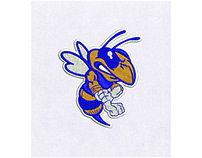HORNET WASP BEE DIGITAL EMBROIDERY DESIGN