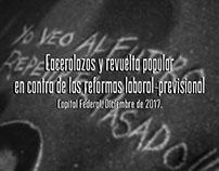 Cacerolazo y revuelta popular| Diciembre de 2017