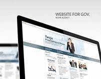 Website & Materials for GOV. Employment agnecy.
