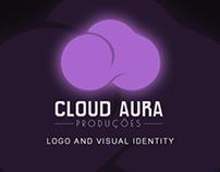 CLOUD AURA   Logo and Visual Identity