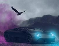 Lamborghini 3D Project | www.retouchlab.net
