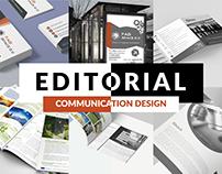 Editorial designs - communication materials