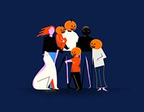 Personal Illustrations / Fall 2017