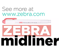 Zebra Midliner Highlighters