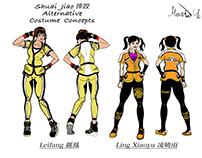 Shuai Jiao Leifang & Xiaoyu concept art