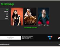 2015 - ALESSANDRA GIGLI website