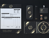Knight Ryder Bussiness Corporate Stationary Identity