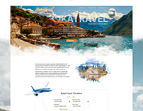Landing Page | Boka Travel Website