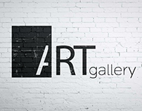 brand identity for ART gallery