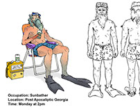 In Class Project-Concept ART: Sunbather in GA at 2PM.