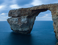 Azure Window & Fungus Rock, Gozo (Ghawdex), Malta