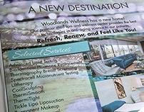 Newspaper Advertisement - Woodlands Wellness