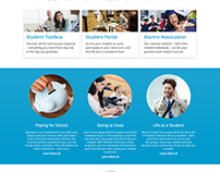 Student Experience Landing Page - UOPX