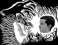 Stranger Things- 11 vs Demogorgon- Illustrator Draw