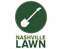 Nashville Lawn company logo concepts