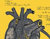 """Afiche de un poema (""""No estoy más"""")"""