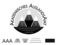 Logo design for the AAA I Akademisches Auslandsamt