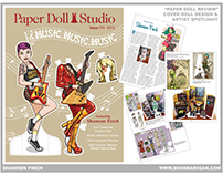 Paper Dolls - Cover Art - Paper Doll Studios #111