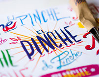 El Pinche - Illustration & Brand Design Experience