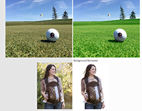 Photoshop workd: Photo Enhance and Background Removed