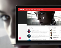 CNMA - Concept of movie portal
