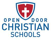 Open Door Christian Schools Branding + Identity