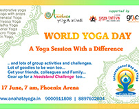 World Yoga Day creatives
