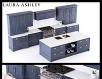 Laura Ashley Helmsley Kitchen 3D Model