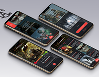 Sound Fi Movie App | iOS