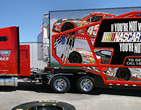 NASCARtv on SPEED Hauler