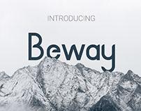 BEWAY - FREE MODERN FONT