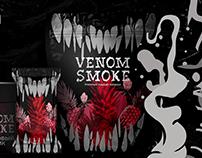 'VENOM SMOKE' hookah tobacco branding