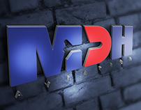 MDH Aviation Logo