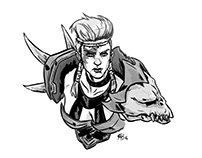 Guild Wars 2 Character Drawings