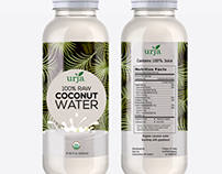 Coconut water label