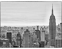 A Bird's-Eye View of Manhattan