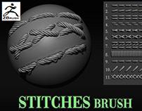 Stitches Brush on Artstation Store
